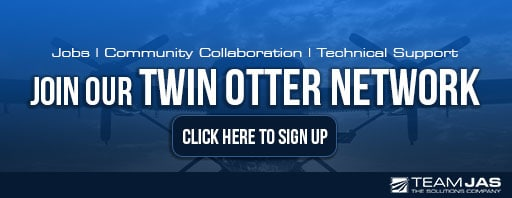 Team JAS' Twin Otter Network