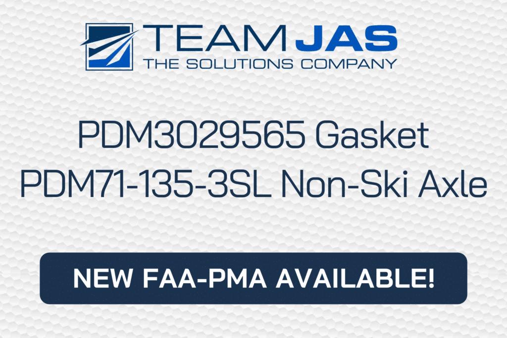 PDM3029565 Gasket & PDM71-135-3SL Gandar Non-Ski