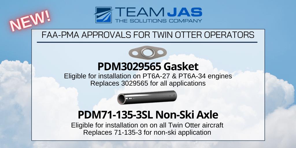 PDM3029565 Gasket & PDM71-135-3SL Non-Ski Axle